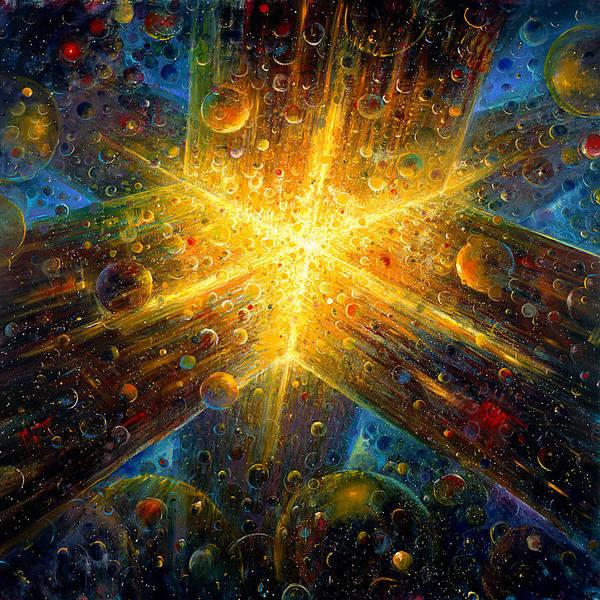 Cosmos Painting - Firmament by De Es Schwertberger