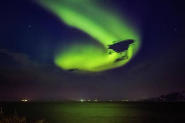 Photograph - First Aurora Alta Norway 1 by Adam Rainoff