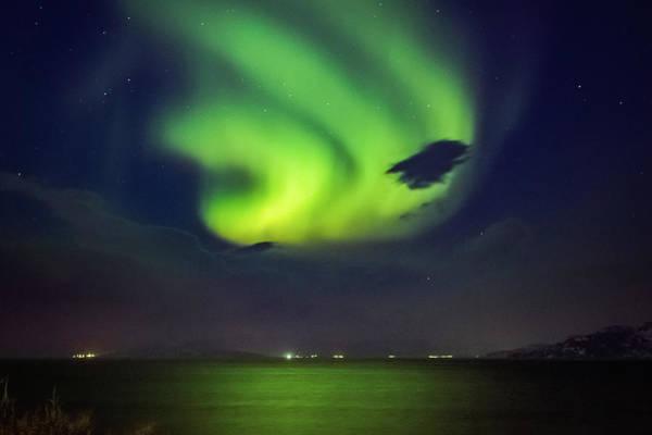 Photograph - First Aurora Alta Norway 2 by Adam Rainoff