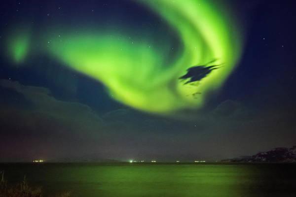 Photograph - First Aurora Alta Norway 3 by Adam Rainoff