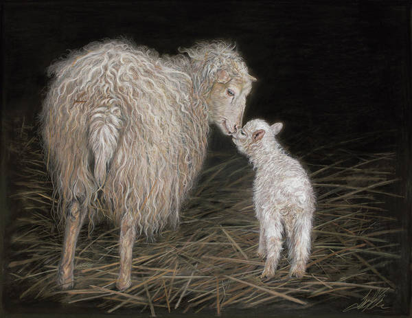 Painting - First Born by Terry Kirkland Cook