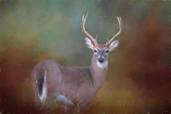 Painting - First Buck by Jai Johnson