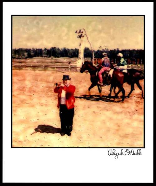 Jocky Photograph - First Call by Abigail O'Neill