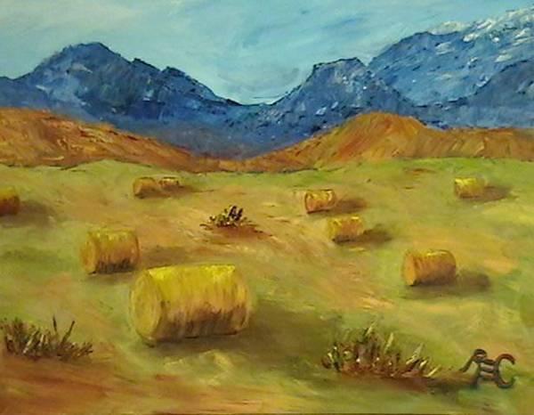 Rhea Painting - First Cutting by Rhea Cragun