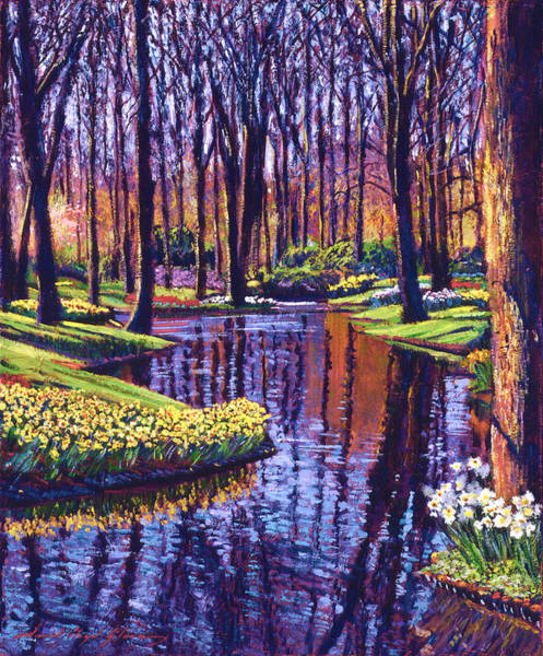 Painting - First Days Of Spring by David Lloyd Glover