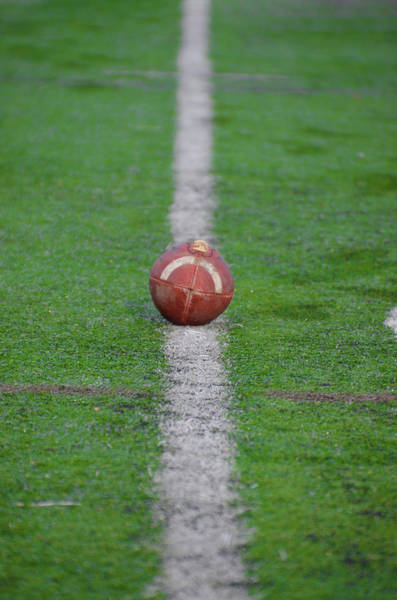 Photograph - First Down by Bill Cannon