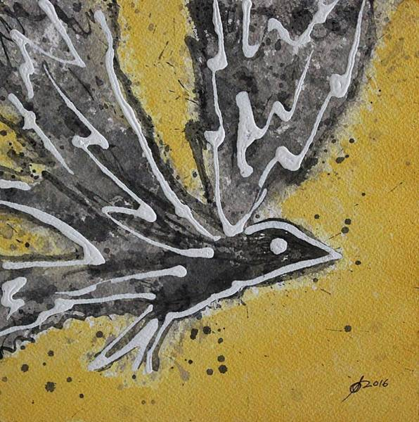 Initiation Painting - First Flight Original Painting by Sol Luckman