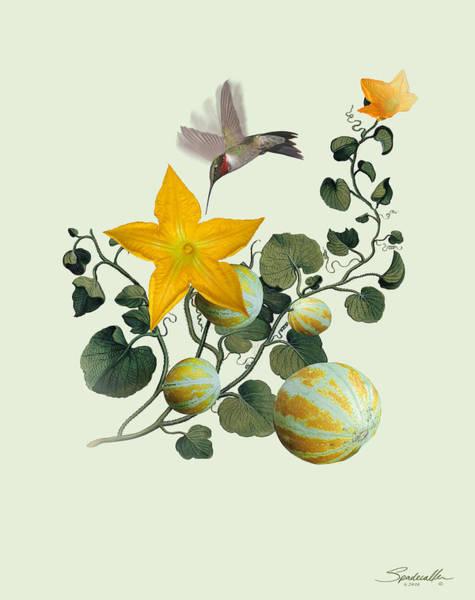 Wall Art - Digital Art - First Garden by M Spadecaller