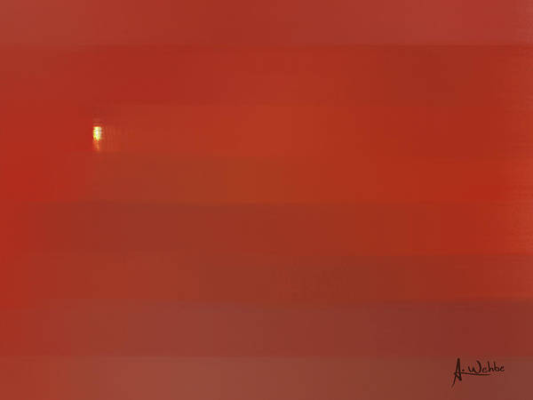 Boldness Painting - First Light by Ahmad Wehbe