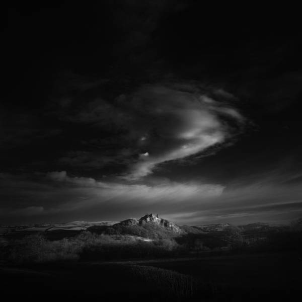 Castle Photograph - First Light by Andy Lee