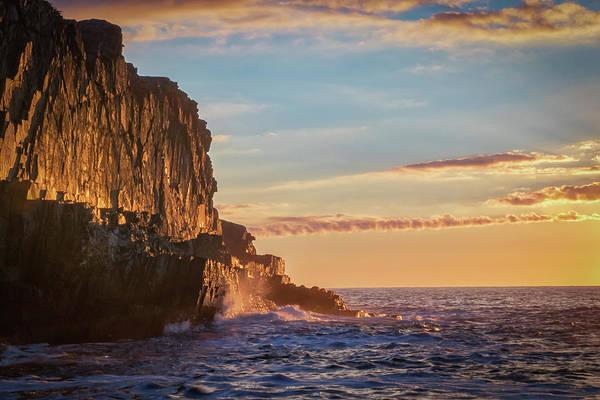 Photograph - First Light At Bald Head Cliff by Kristen Wilkinson