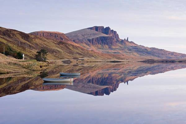 Photograph - First Light Hits The Trotternish Ridge by Stephen Taylor