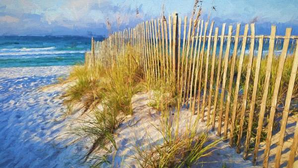 Wall Art - Photograph - First Light On Navarre Beach by JC Findley