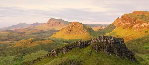 Photograph - First Light Trotternish Panorama by Stephen Taylor
