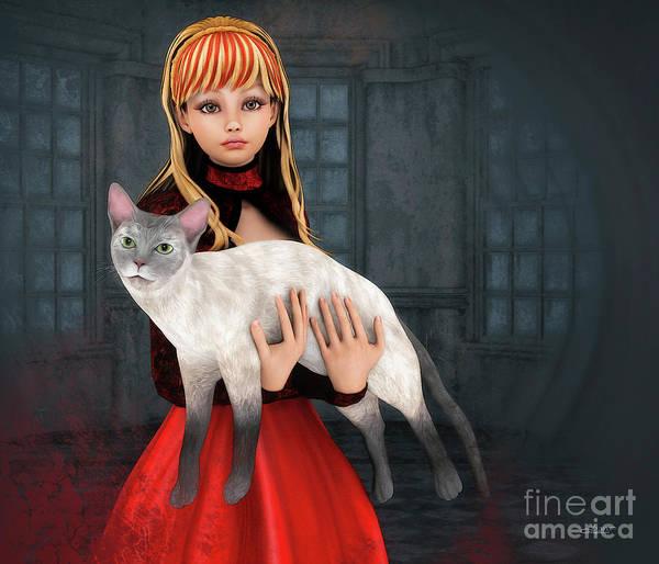 Digital Art - First Love by Jutta Maria Pusl