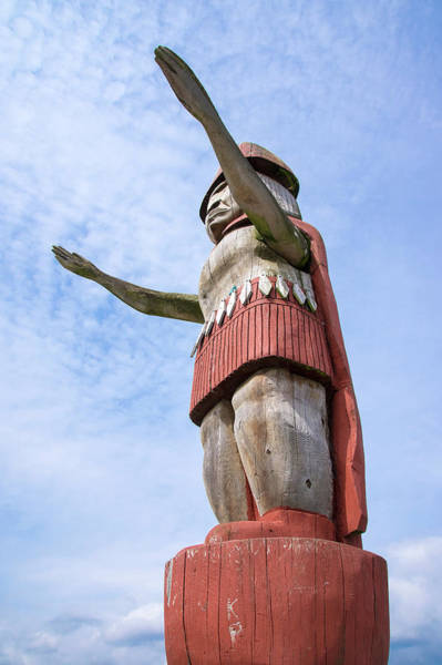 Photograph - First Nations Welcome by Ross G Strachan