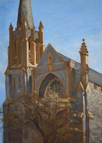 Painting - First Presbyterian by Christopher Reid