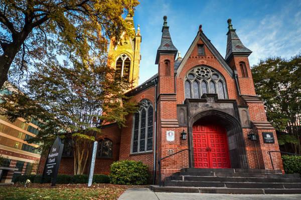 Photograph - First Presbyterian Church In Birmingham Alabama by Michael Thomas