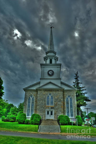 Photograph - First Presbyterian Church by Tony Baca