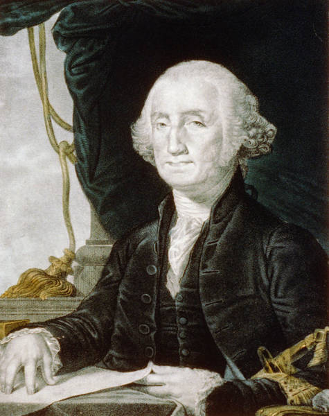 Wall Art - Photograph - First President Of The United States Of America - George Washington by International  Images