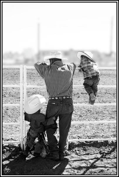 Photograph - First Rodeo by Wayne King