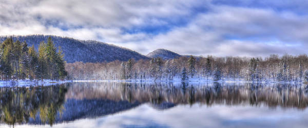 Photograph - First Snow On West Lake by David Patterson