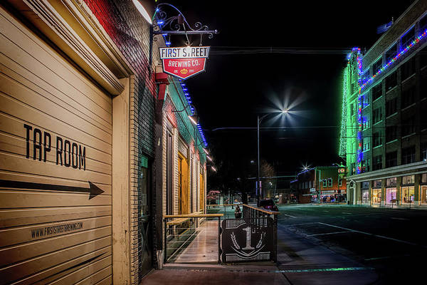 Photograph - First Street Brewing Company by Susan Rissi Tregoning