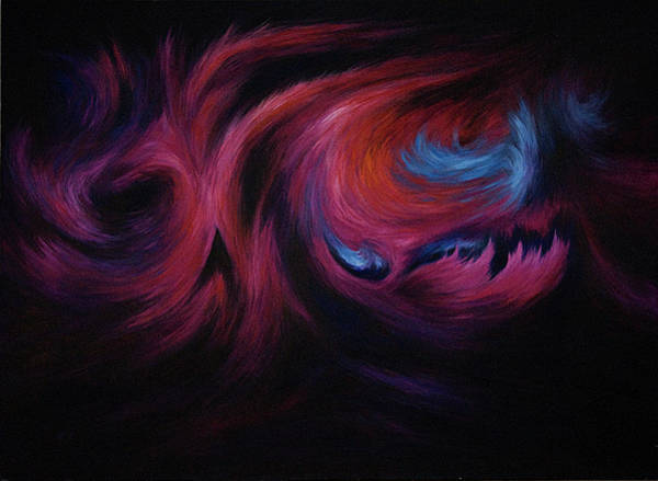 Hallucination Painting - First Transcendence by Rachel Christine Nowicki