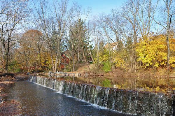 Photograph - Fischers Mill On Towamencin Creek Near Kulpsville by Bill Cannon