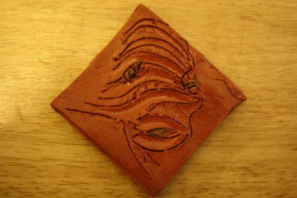 Ceramic Art - Fish - Tile by Gloria Ssali