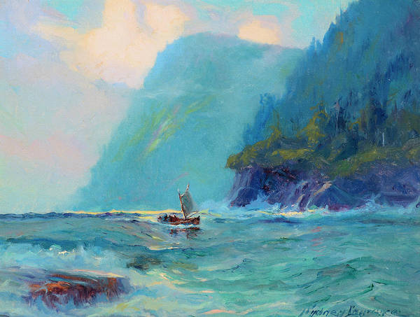 Wall Art - Painting - Fish Boat Marine by Sydney Mortimer Laurence
