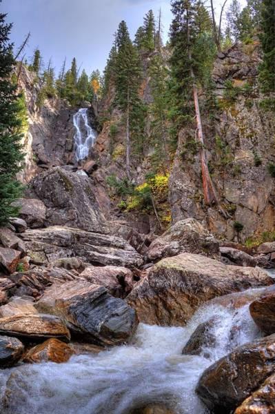 Wall Art - Photograph - Fish Creek Fallin by David Ross