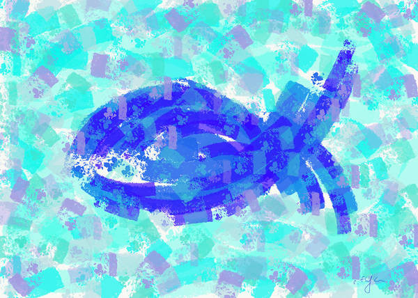 Digital Art - Fish by Cristina Stefan