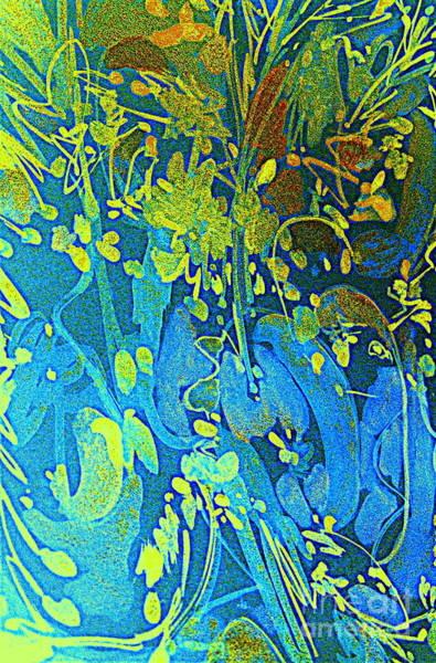 Pale Blue Dot Wall Art - Digital Art -   Fish Faries 2 by Nancy Kane Chapman