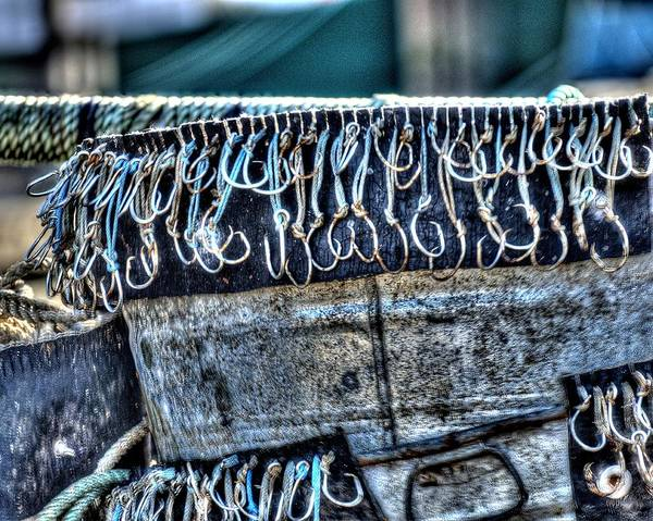 Photograph - Fish Hooks 2365 2 by Jerry Sodorff