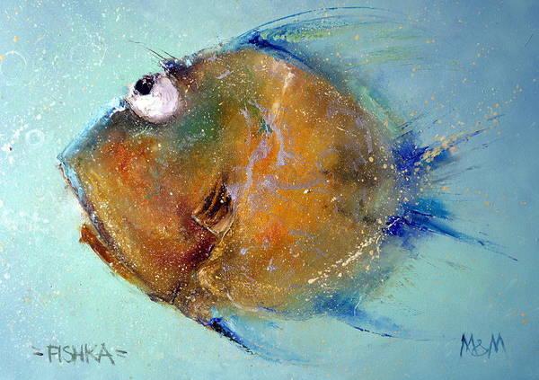 Painting - Fish-ka 1 by Igor Medvedev