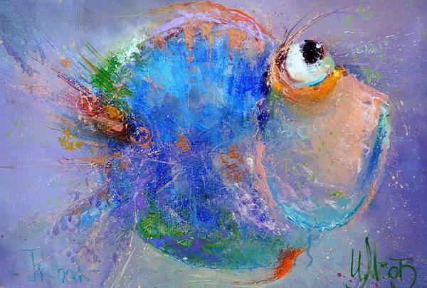 Painting - Fish-ka 2 by Igor Medvedev