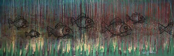 Wall Art - Painting - Fish by Kelly Jade King