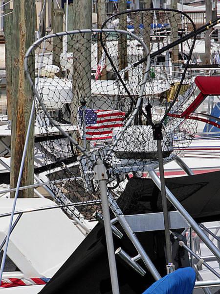 Photograph - Fish Nets by Bob Slitzan