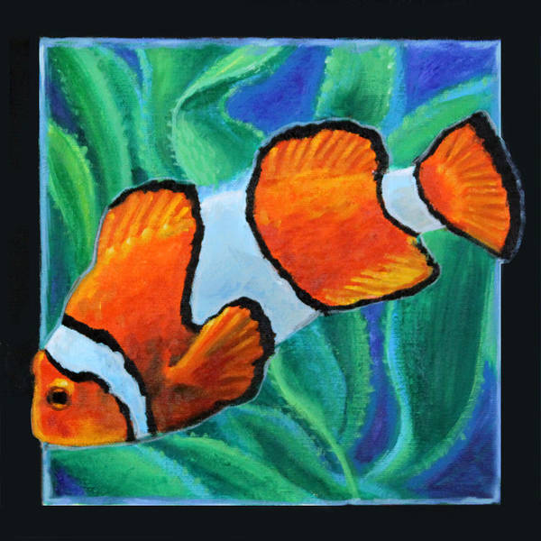 Wall Art - Painting - Fish Number Three by John Lautermilch