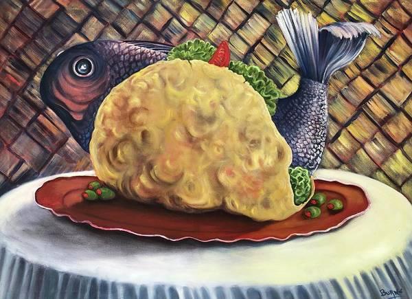 Fish Taco Art Print