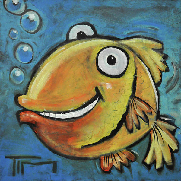 Painting - Fish by Tim Nyberg