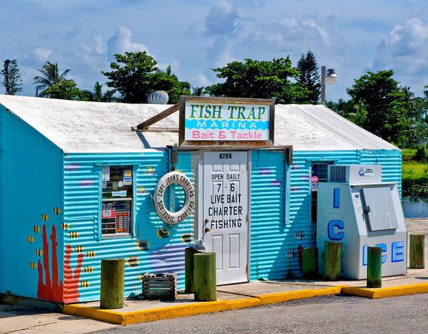 Photograph - Fish Trap Marina In Bonita Springs Florida by Ginger Wakem