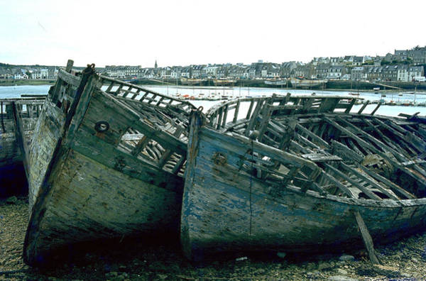 Photograph - Fisher Boats by Flavia Westerwelle