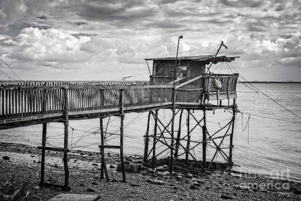Wall Art - Photograph - Fishing Hut by Delphimages Photo Creations