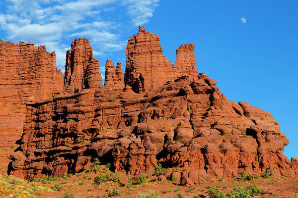 Fisher Towers Photograph - Fisher Towers by Hurricane Valley Photography