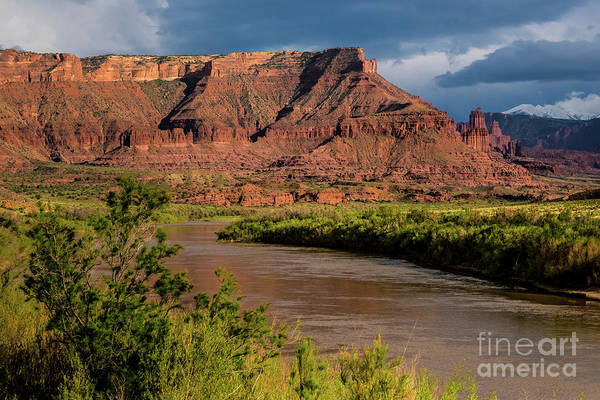 Fisher Towers Photograph - Fisher Towers Sunset by Gary Whitton