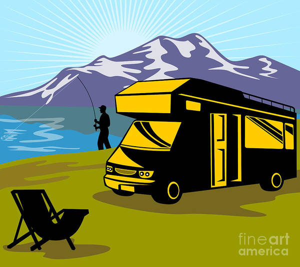 Summer Digital Art - Fisherman Caravan by Aloysius Patrimonio