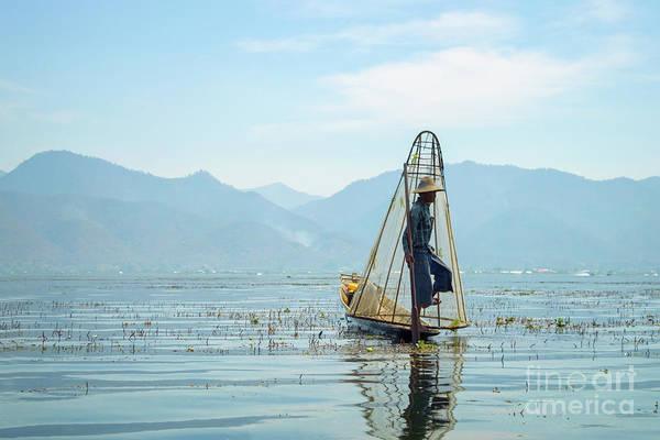 Lake Louise Photograph - Fisherman by Louise Poggianti