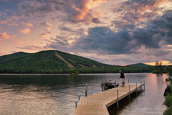 Photograph - Fisherman Docks His Boat by Darylann Leonard Photography